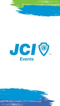 JCI Events poster