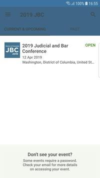 Judicial and Bar Conference screenshot 1