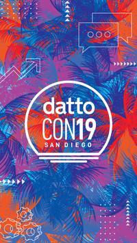 DattoCon19 San Diego poster