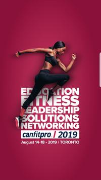canfitpro 2019 poster