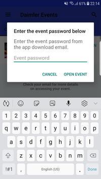 Daimler Events screenshot 1