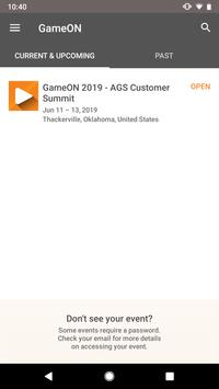GameON - AGS Customer Summit screenshot 1