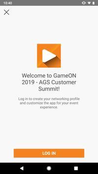 GameON - AGS Customer Summit screenshot 2