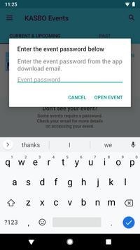 Kansas ASBO Event App screenshot 1