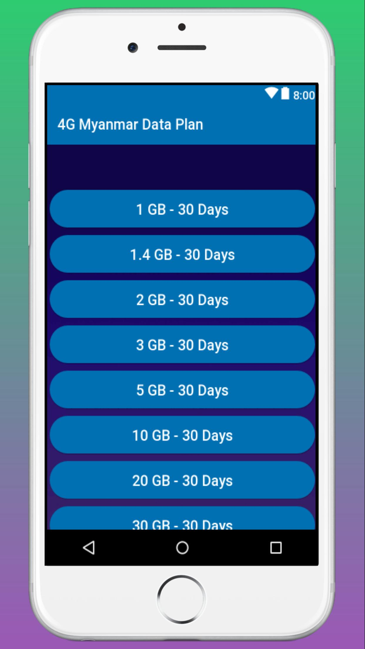 Data Plans Myanmar for Android - APK Download