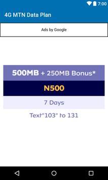 Data Plan for MTN - Nigeria screenshot 1