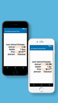 Indonesia Internet Packages screenshot 3