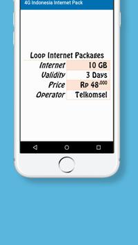 Indonesia Internet Packages screenshot 2
