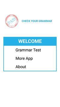 Japanese Grammar Test poster