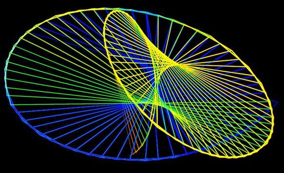 Space Warper - Hypnotizing Live Wallpaper imagem de tela 3