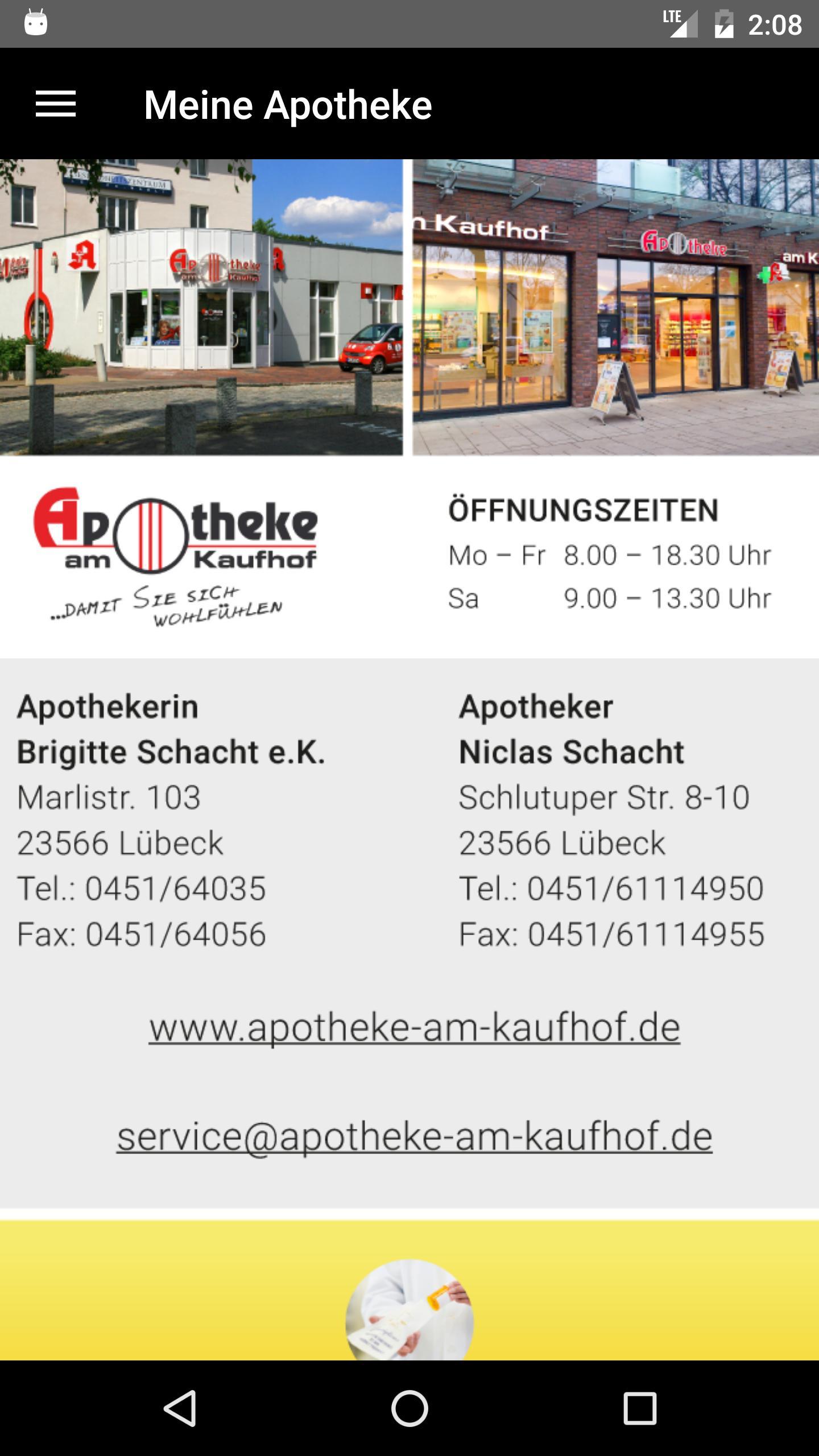 apothekennotdienst lübeck