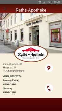 Raths-Apotheke Brandenburg poster