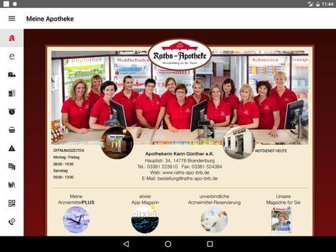 Raths-Apotheke Brandenburg screenshot 3