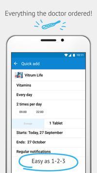 Pills Time💊Medication Tracker & Pill Reminder screenshot 1