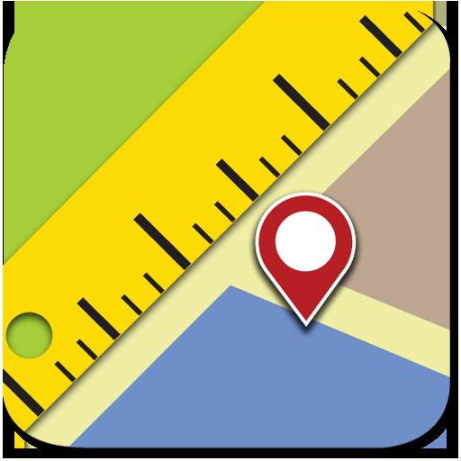 地図ルーラ (Maps Ruler)