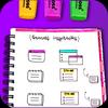 How to make diary notebook ikon