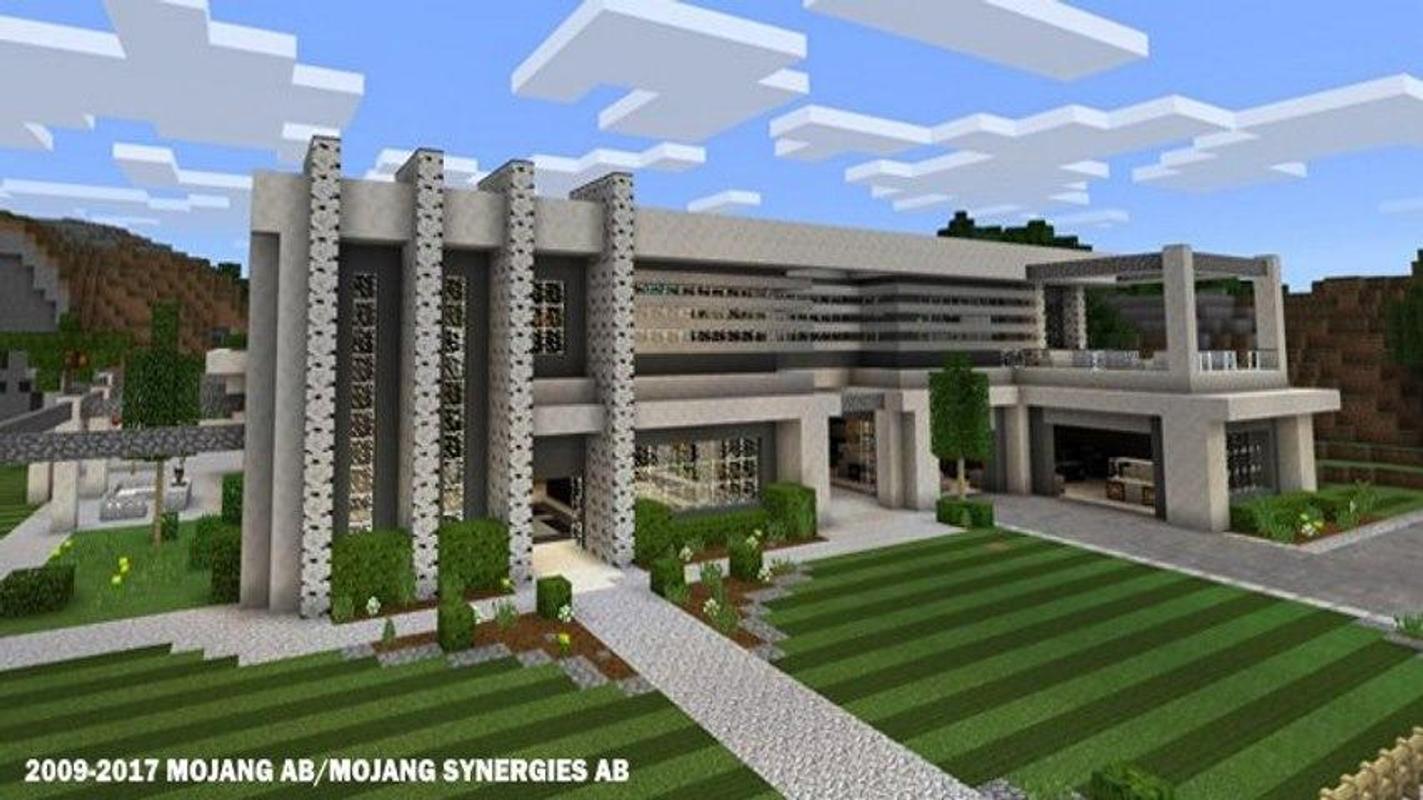 modern houses for minecraft para android apk baixar