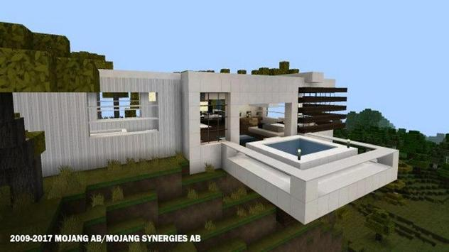 Modern Houses for Minecraft  ★ Ekran Görüntüsü 1