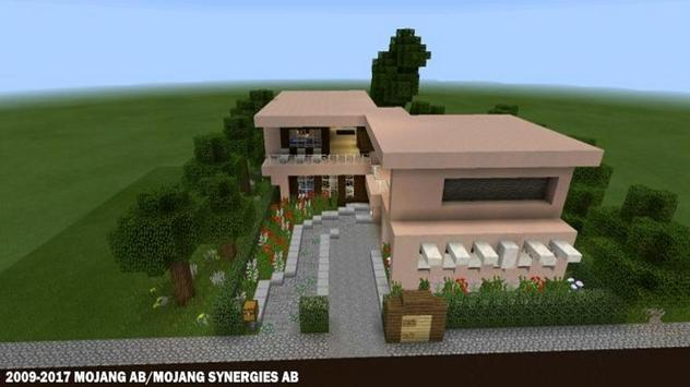 Modern Houses for Minecraft  ★ Ekran Görüntüsü 2