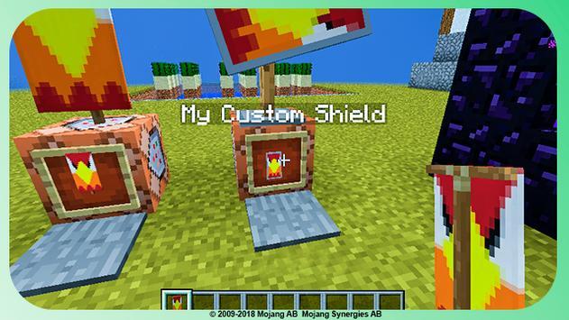 minecraft custom shield