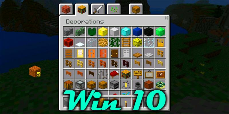Mod Win 10 Edition for Minecraft PE for Android APK Download