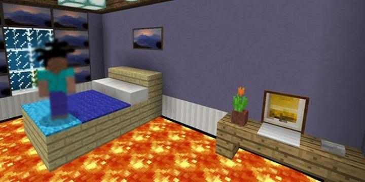 Floor is Lava map for MCPE Minecraft for Android - APK Download