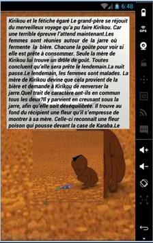 Contes Africains Affiche