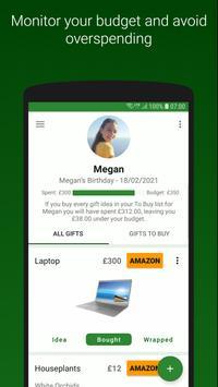 Gift Tracker screenshot 2