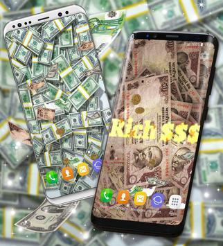 ... Real Money Live Wallpaper स्क्रीनशॉट 5 ...
