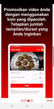 Video Promoter - View4View - Free Views Booster syot layar 2