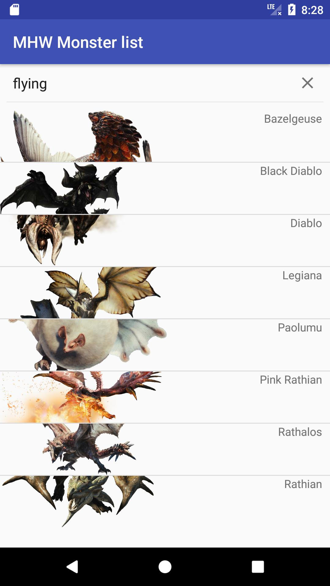 Mhw Large Monsters For Android Apk Download
