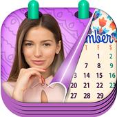 Monthly Photo Calendar 2019 - Calendar Pic Editor icon
