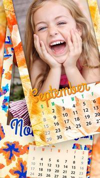 Monthly Photo Calendar 2019 - Calendar Pic Editor screenshot 4