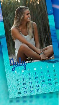 Monthly Photo Calendar 2019 - Calendar Pic Editor screenshot 5