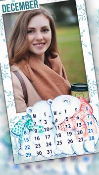 Monthly Photo Calendar 2019 - Calendar Pic Editor screenshot 7