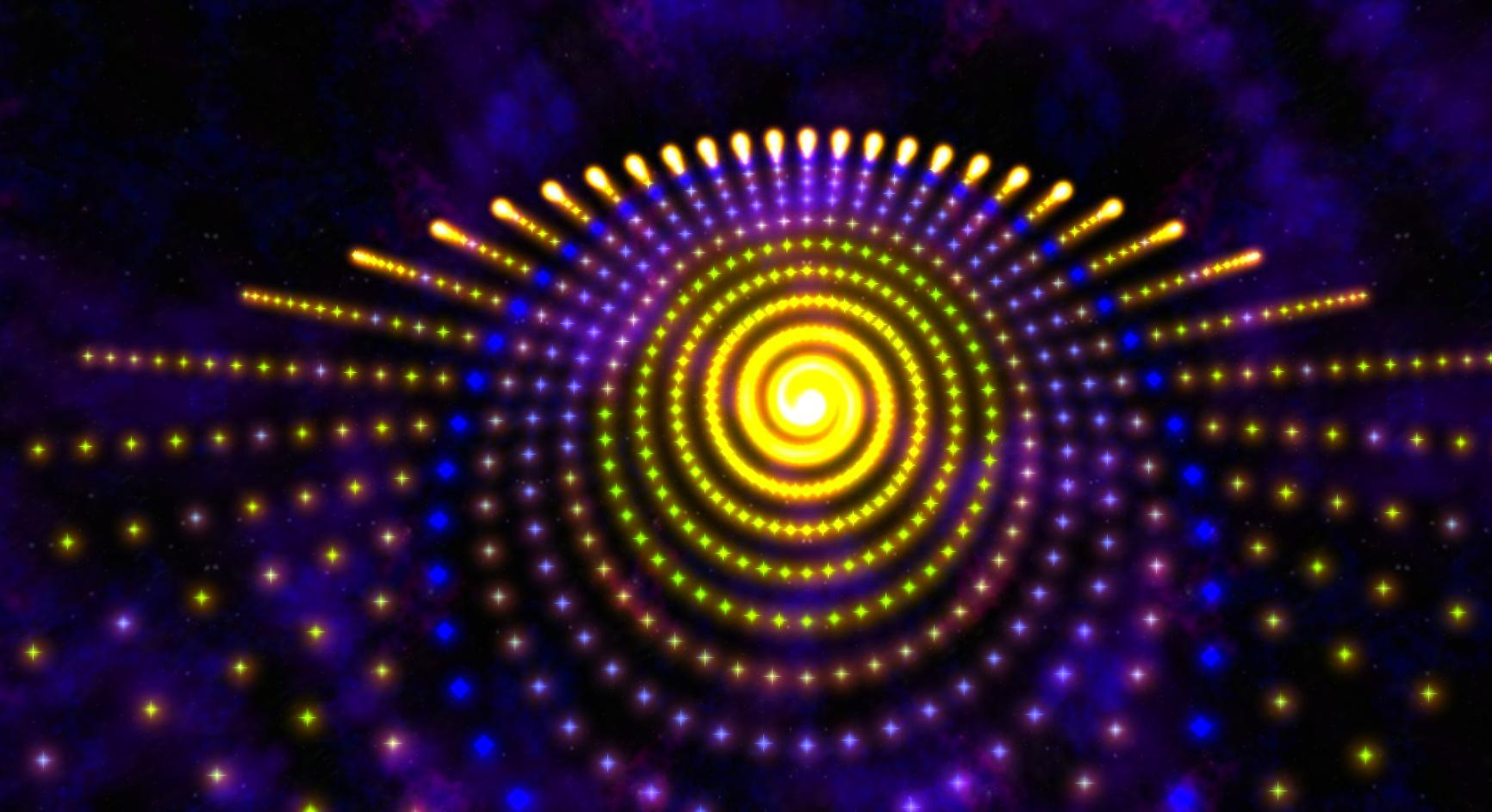 Morphing Galaxy Music visualizer & Live Wallpaper for
