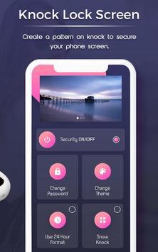 Knock lock screen screenshot 2