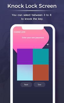Knock lock screen screenshot 3