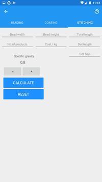 Glue Calculator screenshot 2