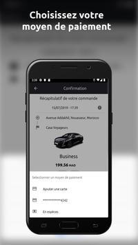 ChauffeurPrive.ma تصوير الشاشة 5