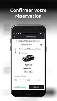 ChauffeurPrive.ma تصوير الشاشة 6