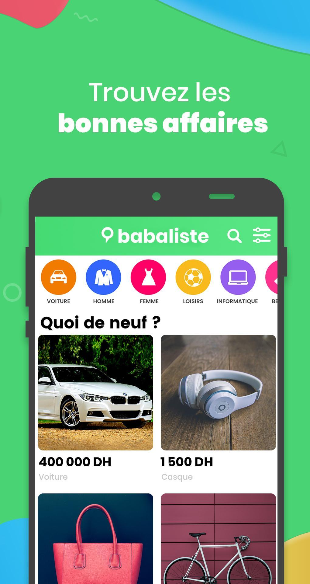 TÉLÉCHARGER APPLICATION BABALISTE