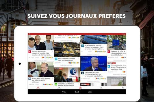 Alertes info: Actualité locale et alerte d'urgence screenshot 13