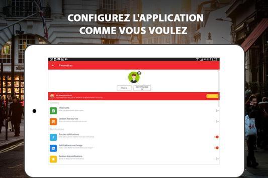 Alertes info: Actualité locale et alerte d'urgence screenshot 10