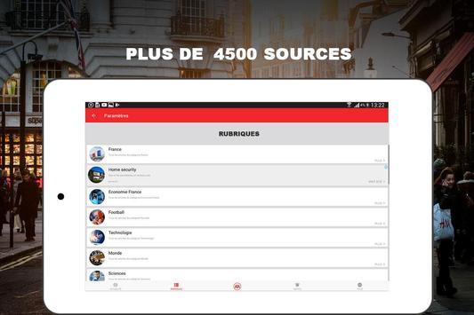 Alertes info: Actualité locale et alerte d'urgence screenshot 18