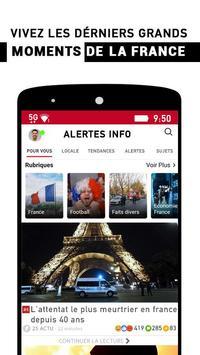 Alertes info: Actualité locale et alerte d'urgence screenshot 1