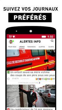 Alertes info: Actualité locale et alerte d'urgence screenshot 2