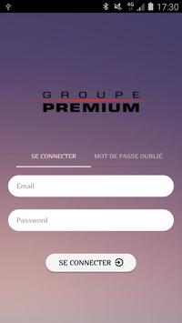 Groupe Premium الملصق