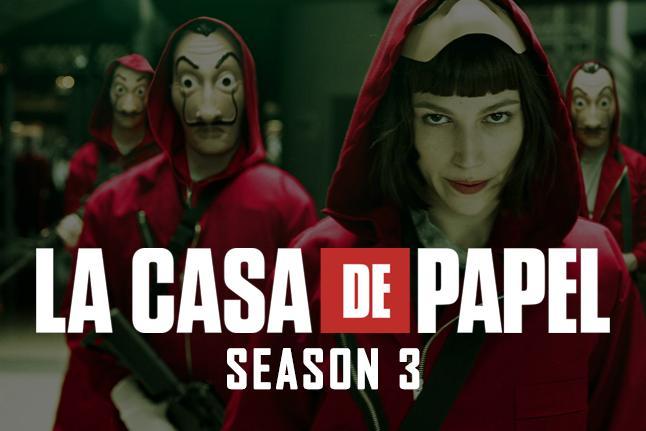 Season 3 of LA CASA DE PAPEL Countdown for Android - APK Download