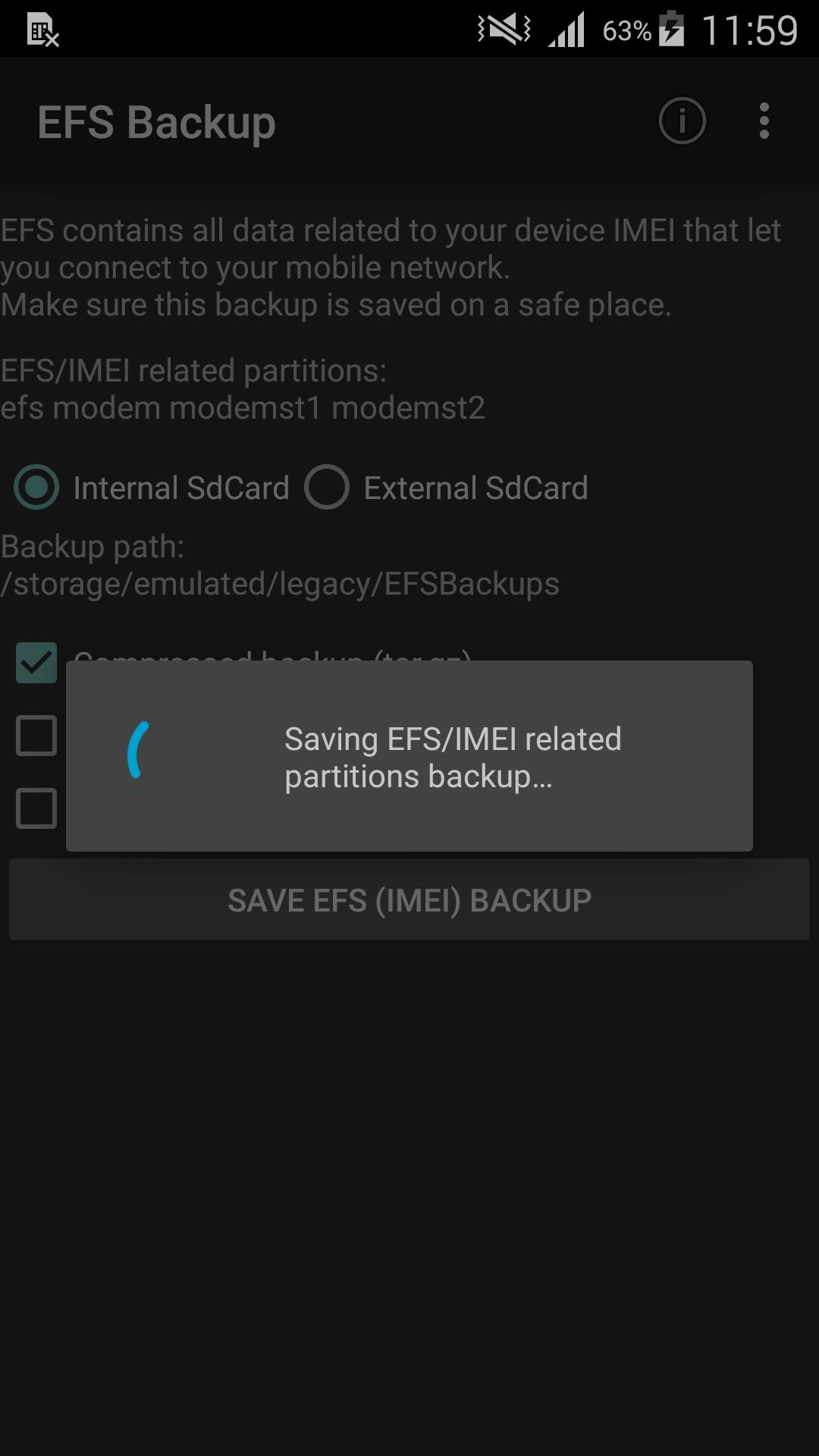 EFS☆IMEI☆Backup for Android - APK Download